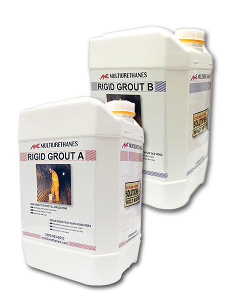 Multiurethanes Rigid Grout