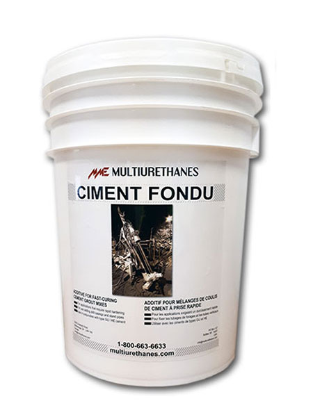 Multiurethanes Ciment Fondu pail